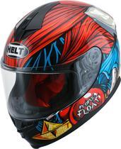 Capacete Helt 967 New Race Joker Vermelho/Azul -