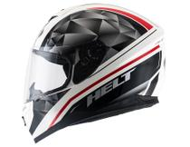 Capacete Helt New Race Carbo Preto/Branco -