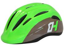 Capacete high one bike infantil piccolo verde / cinza