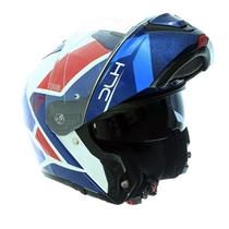 Capacete HJC I90 Hollen Escamoteável Azul brilhante -