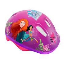 Capacete Infantil para Patins Ou Bike Princesas Disney DTC -