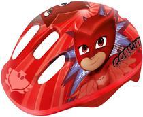 Capacete Infantil PJ Masks - Corujita - Vermelho DTC -