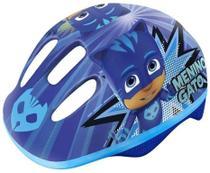 Capacete Infantil PJ Masks - Menino Gato - Azul DTC -