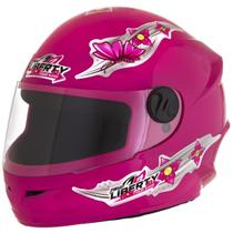 Capacete Infantil Pro Tork Liberty Four For Girls C/ Engate Rápido 54 -