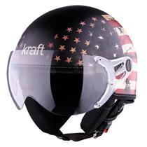 Capacete Kraft Plus USA -