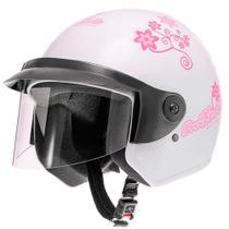 Capacete Liberty Three For Girls Branco Tamanho 60 Pro Tork - CAP-55BC -