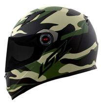 Capacete ls2 army ff358 -