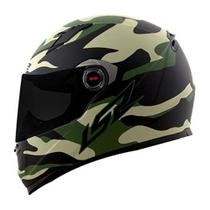 Capacete LS2 FF358 Army -