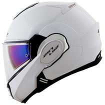 Capacete LS2 FF399 Valiant Branco Brilho -