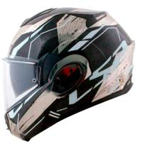 Capacete LS2 FF399 Valiant Roboto Escamoteavel -