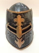 Capacete Medieval Gladiador Cosplay Elmo Fechado - AD594 - Eq Multivendas
