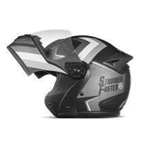Capacete Mixs Gladiator Etceter Stronger Faster Fosco -