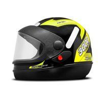 Capacete mixs new automatic amarelo -