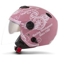 Capacete Moto Aberto Custom Pro Tork New Atomic Highway Dreams -