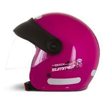 Capacete Moto Aberto Feminino Pro Tork Compact Summer For Girls -