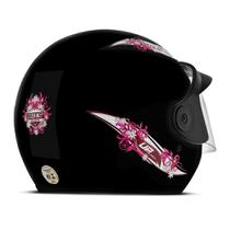 Capacete Moto Aberto Mixs Up For Girls -