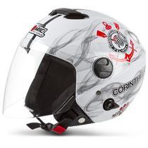 Capacete Moto Aberto Oficial Pro Tork New Atomic Corinthians -