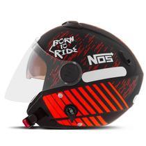 Capacete Moto Aberto Pro Tork New Atomic NOS Born To Ride -
