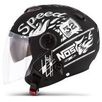Capacete Moto Aberto Pro Tork New Atomic Nos Speed 32 -