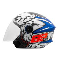 Capacete Moto Aberto Pro Tork New Liberty 3 GP 88 Fosco -