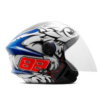Capacete Moto Aberto Pro Tork New Liberty 3 GP 88 -