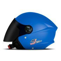 Capacete Moto Aberto Pro Tork New Liberty Three Elite + Viseira Fumê -