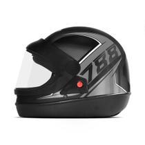 Capacete Moto Automático Pro Tork Super Sport Moto 2019 Brilhante -
