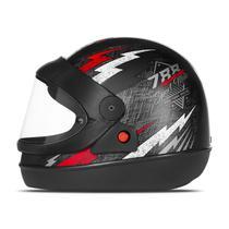 Capacete Moto Automático Pro Tork Super Sport Moto Preto -