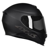 Capacete Moto Axxis Eagle Solid Preto Fosco By MT -