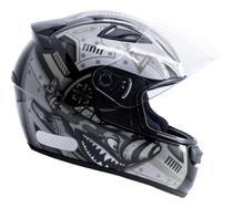 Capacete Moto Ebf New Spark Air Fechado Fosco brilhante - Ebf Capacetes