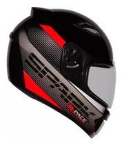 Capacete Moto Ebf New Spark R-pace Fechado Fosco brilhante - Ebf Capacetes