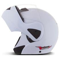 Capacete moto escamoteável robocop pro tork v-pro jet -