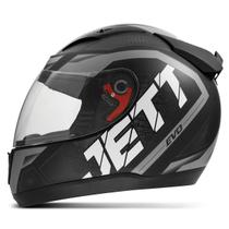 Capacete Moto Fechado Jett Evo Line Fosco - Pro Tork
