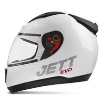 Capacete Moto Fechado Jett Evo Line Solid Brilhante - Pro Tork