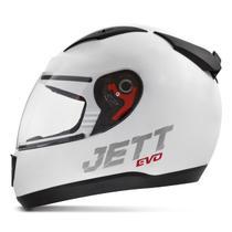 Capacete Moto Fechado Jett Evo Line Solid Fosco -