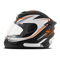 Capacete Moto Fechado Mixs Mx2 Carbon X Fosco -