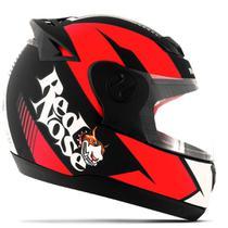 Capacete Moto Fechado Pro Tork Evolution G6 Red Nose RN-01 Fosco -