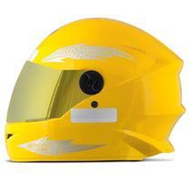 Capacete Moto Fechado Pro Tork New Liberty 4 Viseira Dourada -