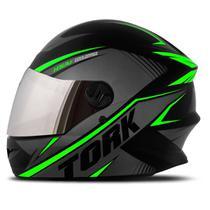 Capacete Moto Fechado Pro Tork R8 Viseira Cromada -
