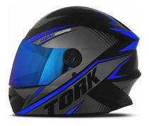 Capacete Moto Fechado Protork R8 Viseira Irridium Camaleão - Pro Tork