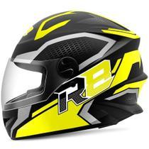 Capacete Moto Fechado R8 Air Pro Tork Fosco -