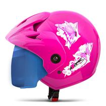 Capacete Moto Feminino Pro Tork Atomic For Girls Viseira Iridium -