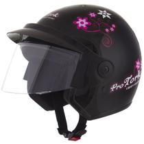 Capacete Moto Feminino Pro Tork Liberty 3 For Girls -