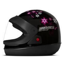 Capacete Moto Feminino Pro Tork Sport Moto For Girls -