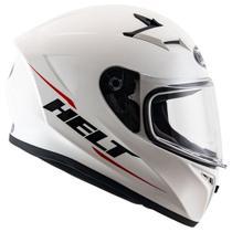 Capacete moto integral Helt Street Polar branco tamanho 60 -