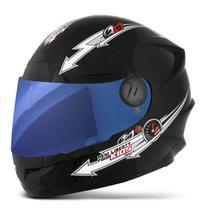 Capacete Moto Liberty Four Kids Infantil Tam. 54 Vis.Iridium - PRO TORK
