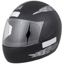 Capacete Moto Liberty Four Pro Tork Tamanho 56 Fechado Preto Fosco -
