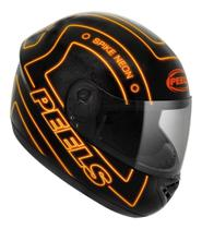 Capacete Moto Marca Peels - Modelo - Spike Neon -