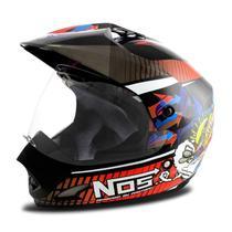 Capacete Moto Nos Vision Th1 - Pro Tork