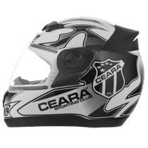Capacete Moto Oficial Clube Ceará Vozão 3g Pro Tork -